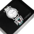 Vintage Native American Watch Seiko Timepiece 40624