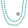 Arizona Turquoise Necklace Sterling Silver Accents 40627