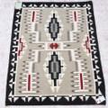 Vintage Navajo Storm Pattern Rug 40641