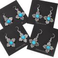 Sterling Silver Zia Dangle Earrings 40645