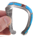 Sterling Silver Old Pawn Native American Bracelet 40663
