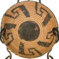 Vintage Papago Indian Basket Bowl 40711