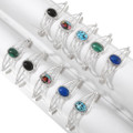 Choose Your Gemstone Navajo Bracelets 40720