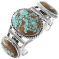 Spiderweb Turquoise Navajo Bracelet 40739