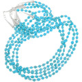 Authentic Navajo Made Turquoise Bead Necklaces 40752