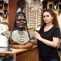 Native American Chief Nez Perce Chief Joseph Bronze Statue 40786