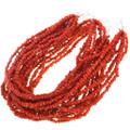 Seven Strand Coral Necklace 40837