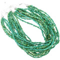Natural Turquoise Beaded Necklace 40839