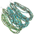 Natural Turquoise Seven Strand Necklaces 40841