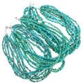 10 Strand Arizona Turquoise Necklace 40842