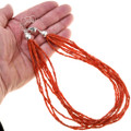 Ten Strand Beaded Red Coral Necklace 40843