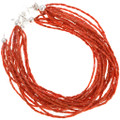 Seven Strand Southwest Natural Coral Jewelry 40845