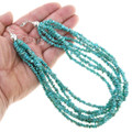 Seven Strand Natural Turquoise Necklace 40849