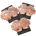 Copper Cross Navajo Post Earrings 40874