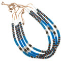 Authentic Navajo Made Beaded Choker Necklace 40885