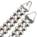 Sterling Silver Leopard Design Amethyst Necklace 40887