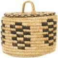 Hand Woven Natural Materials Yucca Papago Basket 40962