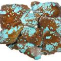 High Grade Number 8 Spiderweb Turquoise Rough 37152
