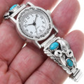 Sterling Silver Turquoise Ladies Watch 40992