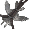 Authentic Navajo Turquoise Eagle Kachina Artist Garrett Hale Signed 41006