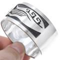 Overlaid Silver Bracelet 24551