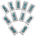 Turquoise Silver Money Clip 41025