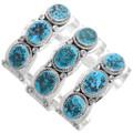 Native American Old Pawn Style Arizona Turquoise Bracelet 24936