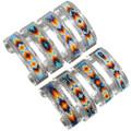 Colorful Navajo Geometric Pattern Beaded Bracelet 41534