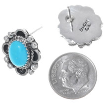 Southwest Silver Earrings 27223