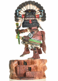 Hopi Broadface Kachina Doll 23871