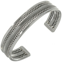 Native American Sterling Silver Bracelet12899