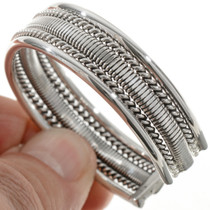 Navajo Indian Sterling Silver 12899