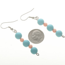 Pueblo Turquoise Line Earrings 11035