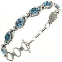 Navajo Turquoise Tennis Bracelet 26264
