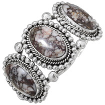 Southwest Gemstone Ladies Cuff Bracelet 23655