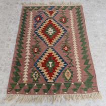 Southwest Design Style Wool Rug 26847