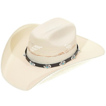 Silver Turquoise Hatband 26219