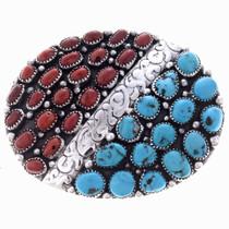 Turquoise Belt Buckle 24689