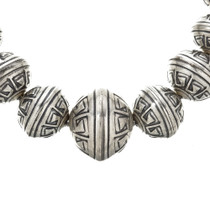 Navajo Bench Bead Necklace 23715