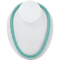 Navajo Turquoise Bead Necklace 27118