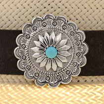 Navajo Sterling Hat Band 24237