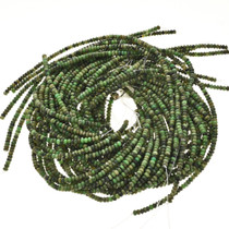 4mm by 6mm Australian Jade Beads 16 inch Strand