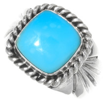 Turquoise Mens Ring 22407