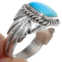 Handcrafted Turquoise Ring 22407