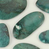 CHINA MOUNTAIN Turquoise Cabochons 530 Carats