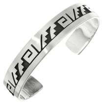 Overlaid Pueblo Silver Bracelet 23595