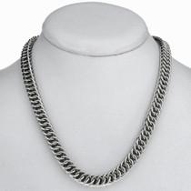 Interlocking Sterling Necklace 24327