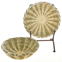 Native American Basket and Plate Set 22498