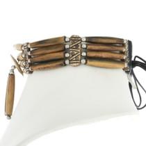 Cherokee Style Bone Choker 25394