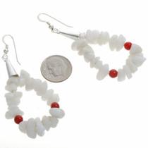 Native American French Hook Earrings 23758